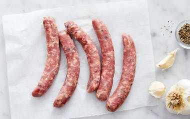 Grass-Fed Jalapeño & Mint Lamb Sausage (Frozen)
