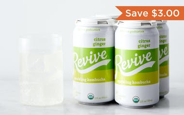 Organic Citrus Ginger Sparkling Probiotic
