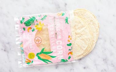 Heirloom Corn Tortillas