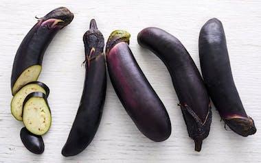Organic Japanese Eggplant