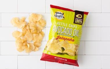 Jalapeño Avocado Oil Kettle Chips