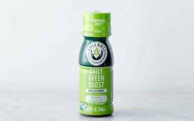 "Organic ""Daily Green Boost"" Apple Cucumber Moringa Shot"