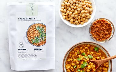 Instant Pot Vegan Chana Masala Meal Kit