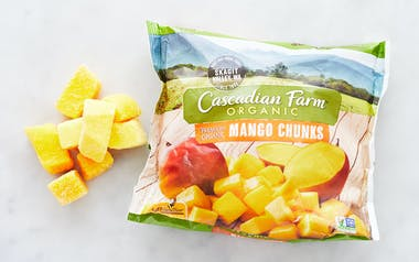 Organic Frozen Mango Chunks