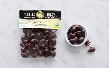 Organic Dark Chocolate Sea Salt Cashews