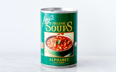 Organic Low-Fat Alphabet Soup
