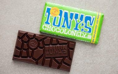 Almond Sea Salt Dark Chocolate Bar (51%)