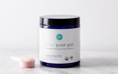 Organic Probiotics with Prebiotic Powder Apple Raspberry