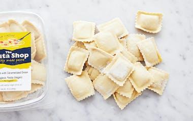 Vegan Mushroom & Caramelized Onion Ravioli